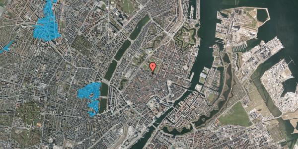 Oversvømmelsesrisiko fra vandløb på Landemærket 43, 1119 København K