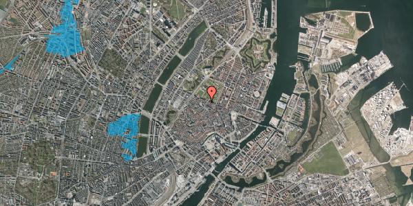 Oversvømmelsesrisiko fra vandløb på Landemærket 47, 1. , 1119 København K