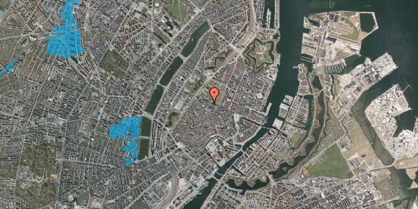 Oversvømmelsesrisiko fra vandløb på Landemærket 49, 1. , 1119 København K