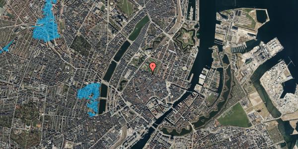 Oversvømmelsesrisiko fra vandløb på Landemærket 51, kl. , 1119 København K