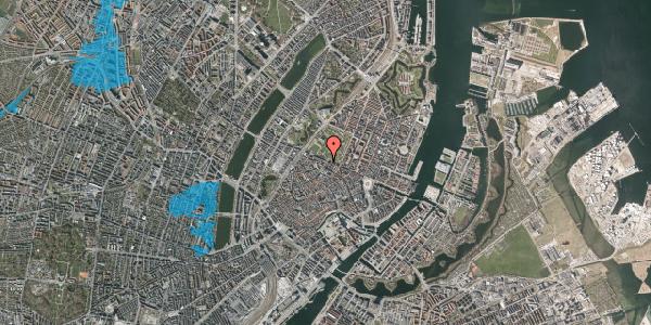 Oversvømmelsesrisiko fra vandløb på Landemærket 53, 1119 København K