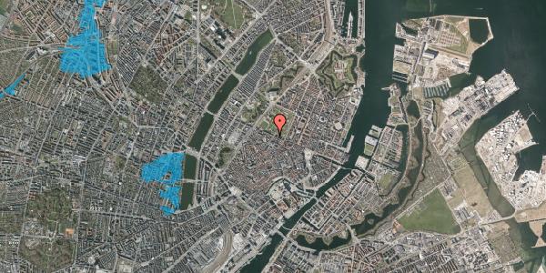 Oversvømmelsesrisiko fra vandløb på Landemærket 55, 1119 København K