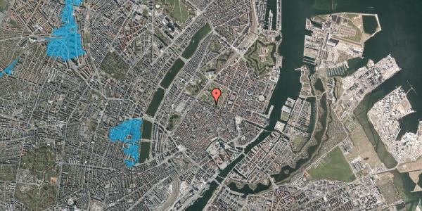 Oversvømmelsesrisiko fra vandløb på Landemærket 57, kl. , 1119 København K