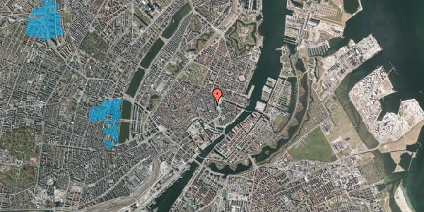 Oversvømmelsesrisiko fra vandløb på Lille Kongensgade 12, 3. , 1074 København K