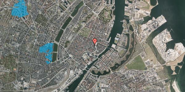 Oversvømmelsesrisiko fra vandløb på Lille Kongensgade 14, 3. , 1074 København K