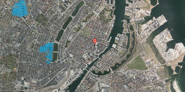 Oversvømmelsesrisiko fra vandløb på Lille Kongensgade 16, 3. , 1074 København K
