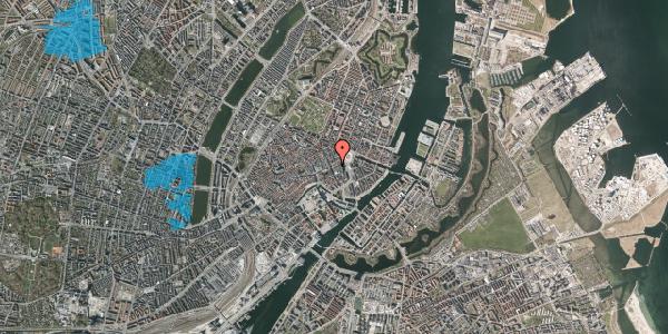 Oversvømmelsesrisiko fra vandløb på Lille Kongensgade 20, st. , 1074 København K