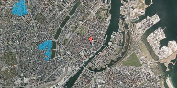 Oversvømmelsesrisiko fra vandløb på Lille Kongensgade 22, 3. , 1074 København K