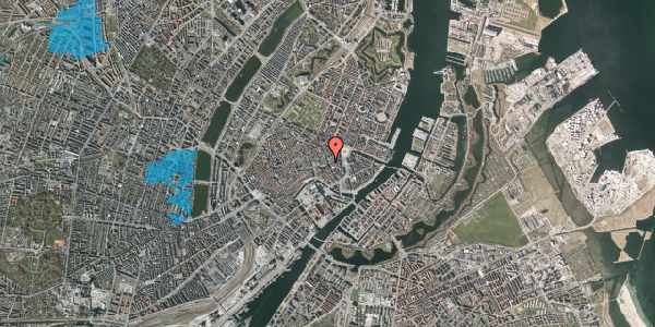 Oversvømmelsesrisiko fra vandløb på Lille Kongensgade 32, 5. , 1074 København K