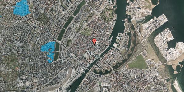 Oversvømmelsesrisiko fra vandløb på Lille Kongensgade 34, 1. , 1074 København K