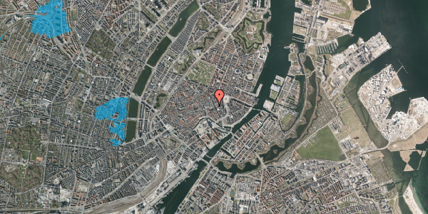 Oversvømmelsesrisiko fra vandløb på Lille Kongensgade 34, 2. , 1074 København K