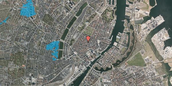 Oversvømmelsesrisiko fra vandløb på Løvstræde 10, 1. tv, 1152 København K