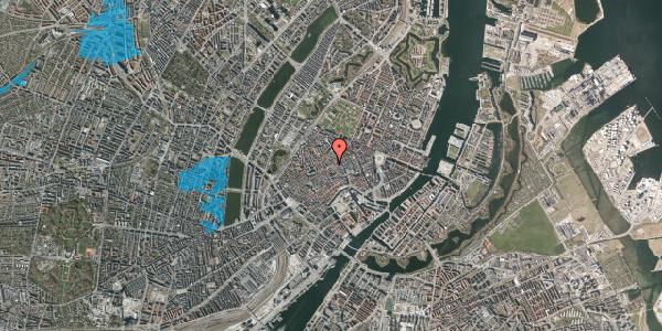 Oversvømmelsesrisiko fra vandløb på Løvstræde 14, 1. th, 1152 København K