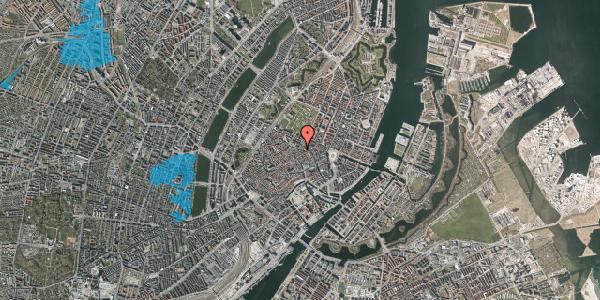 Oversvømmelsesrisiko fra vandløb på Møntergade 2, kl. 1, 1116 København K