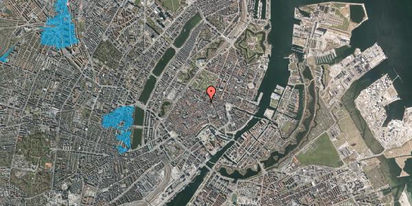 Oversvømmelsesrisiko fra vandløb på Møntergade 4, 1. , 1116 København K