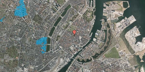 Oversvømmelsesrisiko fra vandløb på Møntergade 6, kl. , 1116 København K