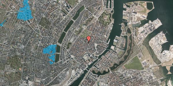 Oversvømmelsesrisiko fra vandløb på Møntergade 8, 4. , 1116 København K