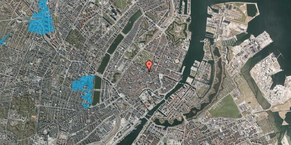 Oversvømmelsesrisiko fra vandløb på Møntergade 10, 2. , 1116 København K