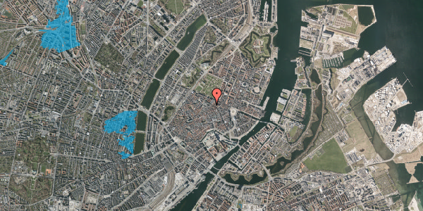 Oversvømmelsesrisiko fra vandløb på Møntergade 16, st. , 1116 København K