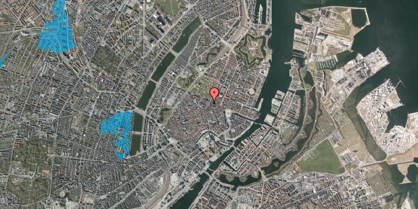 Oversvømmelsesrisiko fra vandløb på Møntergade 22, st. mf, 1116 København K