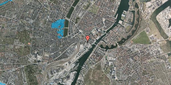 Oversvømmelsesrisiko fra vandløb på Niels Brocks Gade 4, 2. tv, 1574 København V