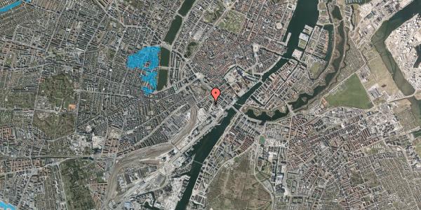Oversvømmelsesrisiko fra vandløb på Niels Brocks Gade 6, 1. tv, 1574 København V