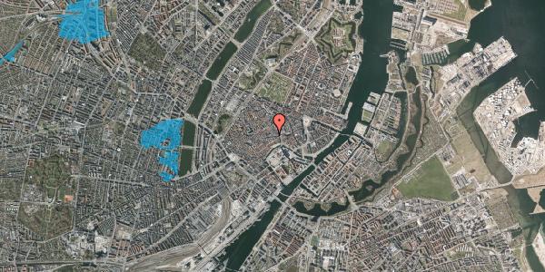 Oversvømmelsesrisiko fra vandløb på Niels Hemmingsens Gade 1, st. 1, 1153 København K