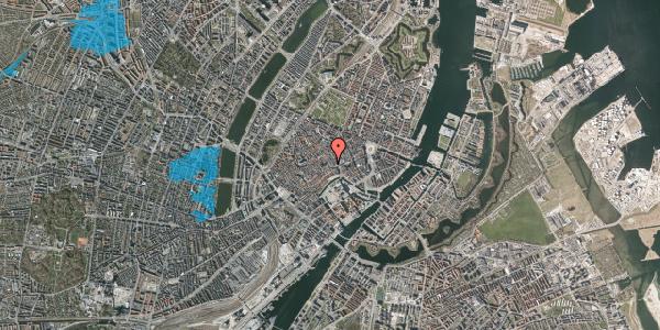 Oversvømmelsesrisiko fra vandløb på Niels Hemmingsens Gade 4, st. tv, 1153 København K