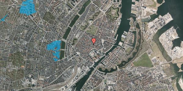 Oversvømmelsesrisiko fra vandløb på Niels Hemmingsens Gade 4, 1. , 1153 København K