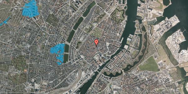 Oversvømmelsesrisiko fra vandløb på Niels Hemmingsens Gade 9, st. , 1153 København K