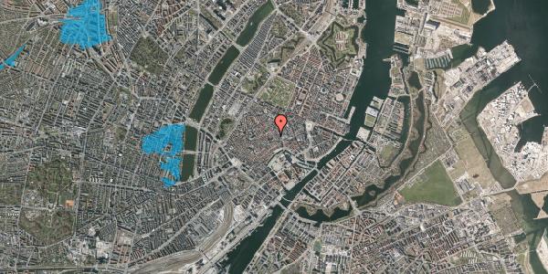 Oversvømmelsesrisiko fra vandløb på Niels Hemmingsens Gade 10, 2. 1, 1153 København K