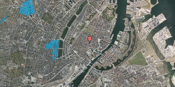 Oversvømmelsesrisiko fra vandløb på Niels Hemmingsens Gade 12, 3. , 1153 København K