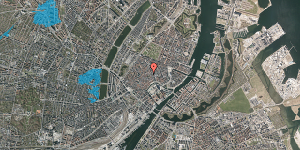 Oversvømmelsesrisiko fra vandløb på Niels Hemmingsens Gade 12, 4. , 1153 København K