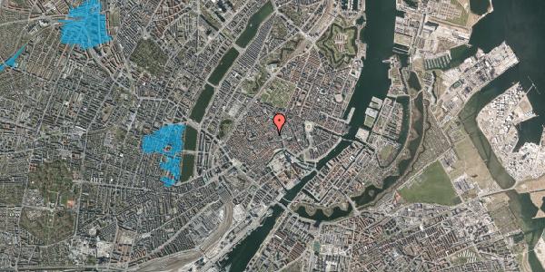 Oversvømmelsesrisiko fra vandløb på Niels Hemmingsens Gade 20, 4. 1, 1153 København K