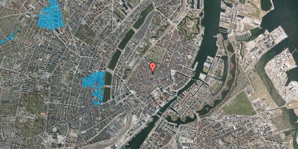 Oversvømmelsesrisiko fra vandløb på Niels Hemmingsens Gade 23, 1. , 1153 København K