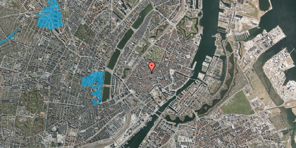 Oversvømmelsesrisiko fra vandløb på Niels Hemmingsens Gade 23, 3. , 1153 København K