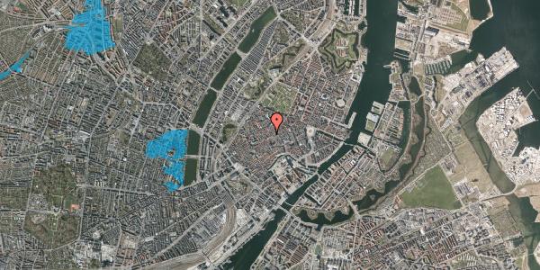 Oversvømmelsesrisiko fra vandløb på Niels Hemmingsens Gade 32A, kl. 1, 1153 København K