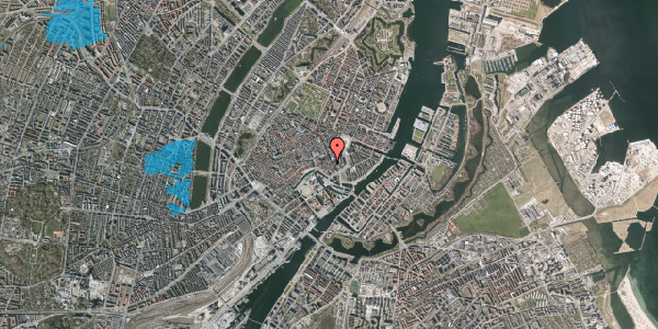 Oversvømmelsesrisiko fra vandløb på Nikolajgade 17, 1. th, 1068 København K