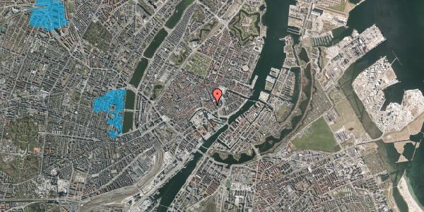 Oversvømmelsesrisiko fra vandløb på Nikolajgade 19, 1. , 1068 København K