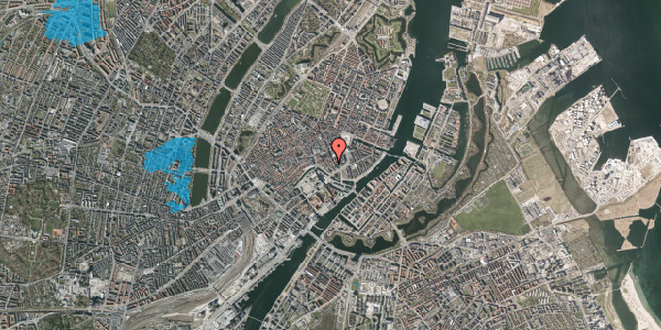 Oversvømmelsesrisiko fra vandløb på Nikolajgade 22, st. , 1068 København K