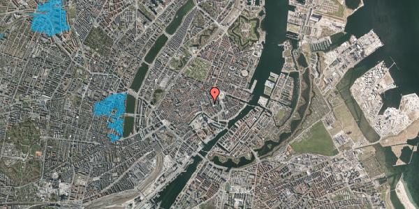 Oversvømmelsesrisiko fra vandløb på Nikolaj Plads 5, 2. 2, 1067 København K