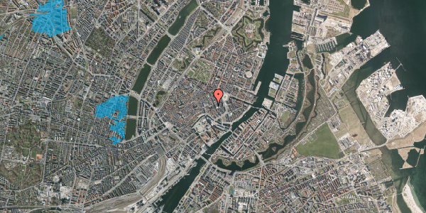 Oversvømmelsesrisiko fra vandløb på Nikolaj Plads 5, 3. 3, 1067 København K