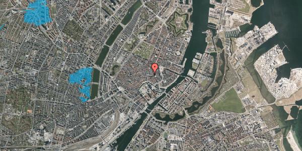 Oversvømmelsesrisiko fra vandløb på Nikolaj Plads 6, st. , 1067 København K