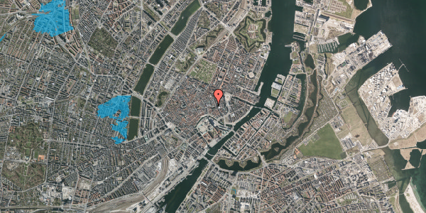 Oversvømmelsesrisiko fra vandløb på Nikolaj Plads 6, 2. , 1067 København K