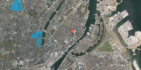 Oversvømmelsesrisiko fra vandløb på Nikolaj Plads 7, 1. , 1067 København K