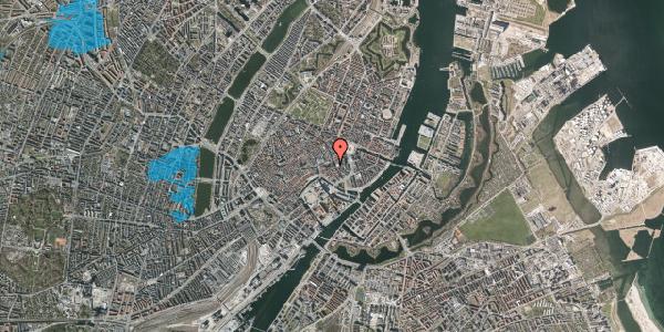 Oversvømmelsesrisiko fra vandløb på Nikolaj Plads 9, 3. th, 1067 København K