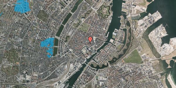Oversvømmelsesrisiko fra vandløb på Nikolaj Plads 30, 1. , 1067 København K