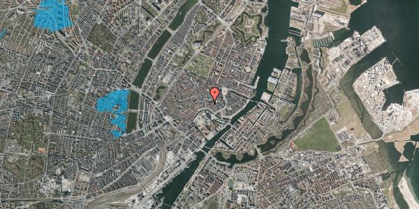 Oversvømmelsesrisiko fra vandløb på Nikolaj Plads 30, 2. , 1067 København K