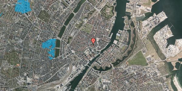 Oversvømmelsesrisiko fra vandløb på Nikolaj Plads 32, st. , 1067 København K