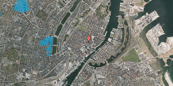 Oversvømmelsesrisiko fra vandløb på Nikolaj Plads 32, 2. , 1067 København K